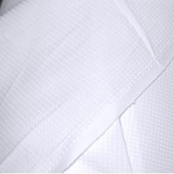 Полотно вафельное белое шир160 см