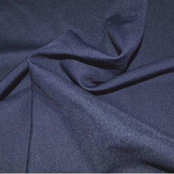Габардин темно-синий