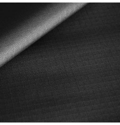 Ткань Oxford 600D рип-стоп черный