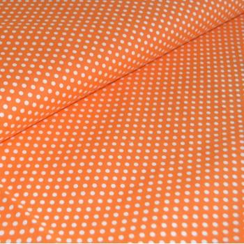 Бязь Горох оранжевая