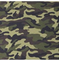 """Ткань рип-стоп """"НАТО"""" зеленая"""