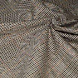 Ткань Канвас костюмная клетчатая С-1380