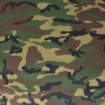 Ткань Грета Люкс НАТО зеленая
