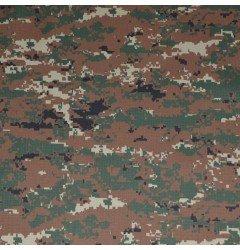 """Ткань """"Защита 230"""" Рип-Стоп Цифра коричневая"""