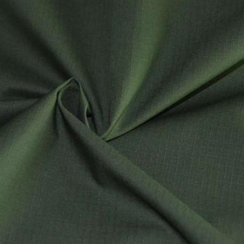 Ткань рип-стоп цвет зеленый темный