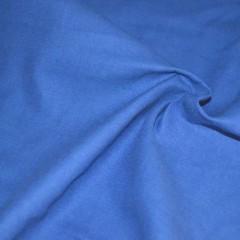 Саржа однотонная голубая (васильковая)
