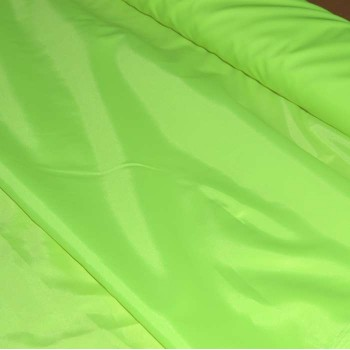 Ткань сигнальная Oxford 210D ярко-салатовая
