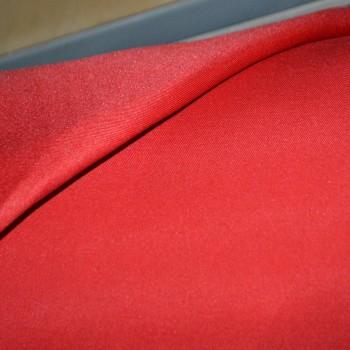 Ткань саржевая ВО красная