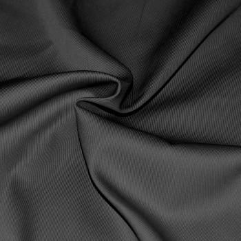 Ткань саржевая черная ВО