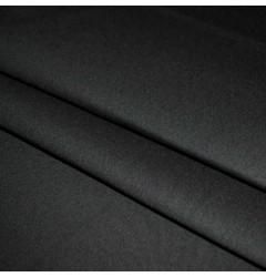 Ткань Грета однотонная черная