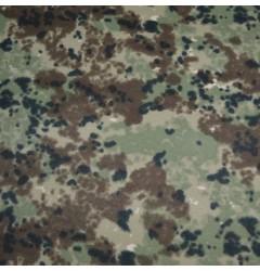 """Ткань Грета """"Клякса"""" зелено-коричневая"""