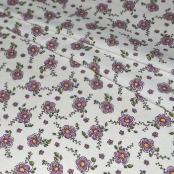 """Фланель """"Цветок"""" фиолетовый 150 см"""