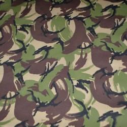 Ткань Грета Люкс КУКЛА зелено-коричневая