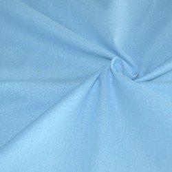 Бязь однотонная светло-голубая