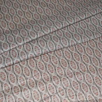 Ситец плательный 80 см 9374-1коричневый