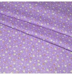 Ситец плательный 80 см 9986-1 фиолетовый