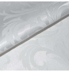 "Отрез скатертной ткани ""Мати"" орнамент белая 150 х 400"