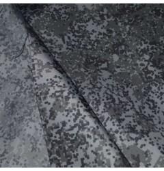 Ткань Климат-150 плащевая Пиксель серый рип-стоп
