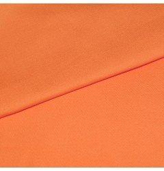 Ткань Грета однотонная оранжевая