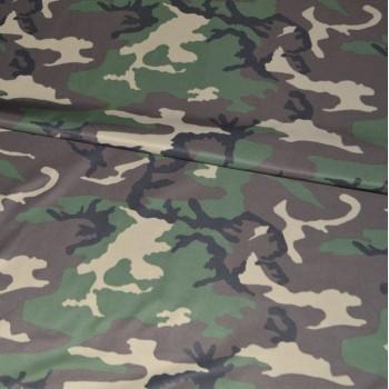 Ткань КМФ Woodland U.S. Балтекс вид 1
